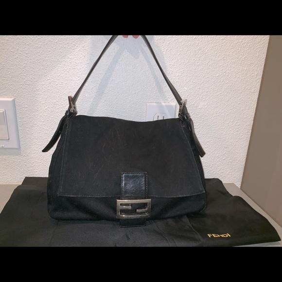 Fendi Handbags - Authentic fendi neoprene zucca mama baguette purse